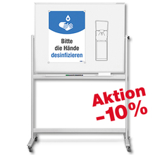 Mobile Whiteboards magnetoplan *Aktion*