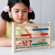Montessori-Rechenrahmen RE-Wood, 4-stellig