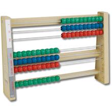 Montessori-Rechenrahmen RE-Wood, 7-stellig
