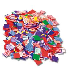 Mosaik-Plättchen gemustert aus Papier, 2.000 Stk.