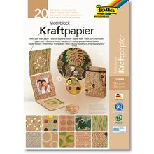 Motivblock Kraftpapier