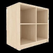Offenes Regal für die Höhe von 2 Ordnern, Serie 400-1 120 cm Breite, 82 cm Höhe, 50 cm Tiefe, Mittelwand
