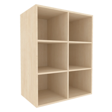 Offenes Regal für die Höhe von 3 Ordnern, Serie 401-1 120 cm Breite, 108 cm Höhe, 50 cm Tiefe, Mittelwand, Aufsatzregal