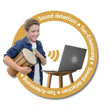 Percussion-Set + Rhythmic Village App