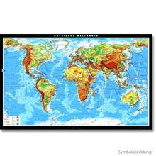 Physische Weltkarte, XXL