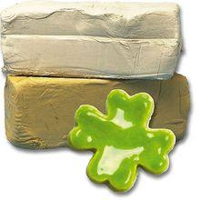 Platten- und Aufbaumassen 40 % Schamotte, Ton 10-kg-Hubel