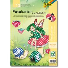 Pünktchen-Fotokarton 25 x 35 cm *Sale*