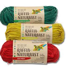 Raffia-Naturbast