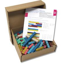 RE-Wood Rechenstäbe in Montessori-Farben