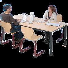 Rechteckiger Tisch TI Serie