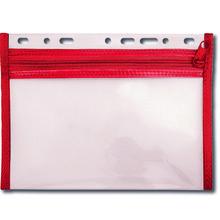 Reißverschluss-Tasche zum Abheften