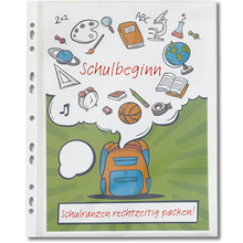 Ringbuch-Folien A4-Plus, Laminierformat