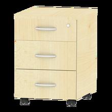 Rollcontainer mit 3 Schüben, fahrbar B/H/T: 43x62,2x61,5 cm