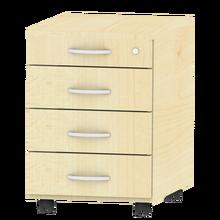 Rollcontainer mit 4 Schüben, fahrbar B/H/T: 43x62,2x61,5 cm