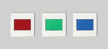 Satz Farbfilter, Primärfarben