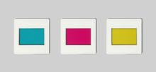 Satz Farbfilter, Sekundärfar.