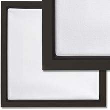 Schattenfugenrahmen-Set Schwarz