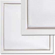 Schattenfugenrahmen-Set Weiß