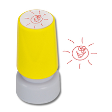 Siebdruck-Stempel Sonne