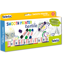 Smooth Textile Painter, 12er-Set