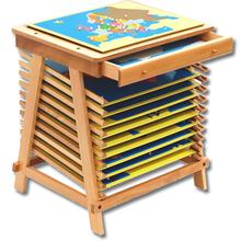 Ständer für 10 Puzzlekarten