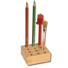 Ständer für 12 Bleistifte und Pinseln
