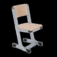 Stapelbarer Schülerstuhl, Buche Sperrholz