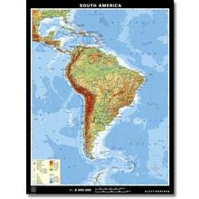 Südamerika physisch, XXL