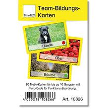 Team-Bildungs-Karten