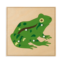 Tierpuzzle: Frosch