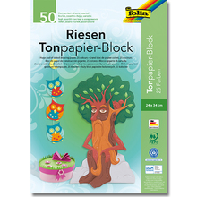Tonpapier-Block 24 x 34 cm