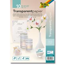 Transparentpapier A4, Weiß