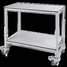 Vorbereitungswagen mit 2 Ablageböden, fahrbar B/H/T: 100x90x60 cm