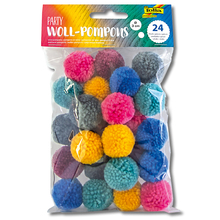 Woll-Pompons