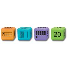 Zahlendarstellungs-Würfel