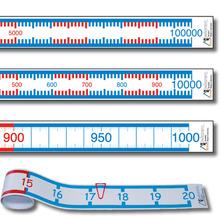 Zahlenstrahl-Rechenbänder