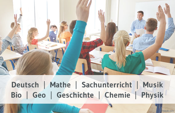 Schulfächer & Fördern